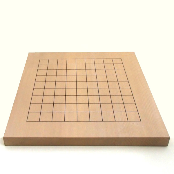 新かや10号卓上囲碁・将棋両用盤